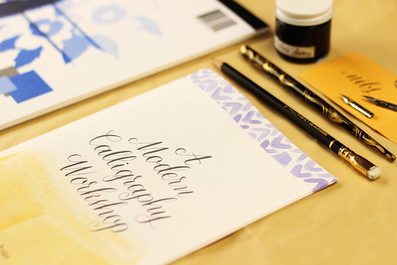 Modern Calligraphy Workshop by Daughter Zion Designs