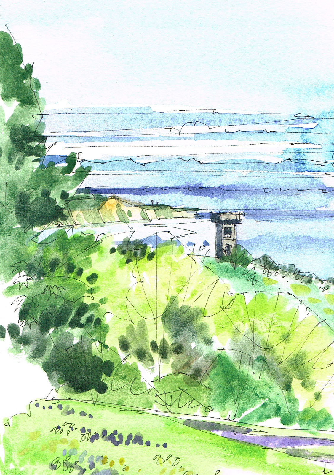 isle of man-albert tower20130709