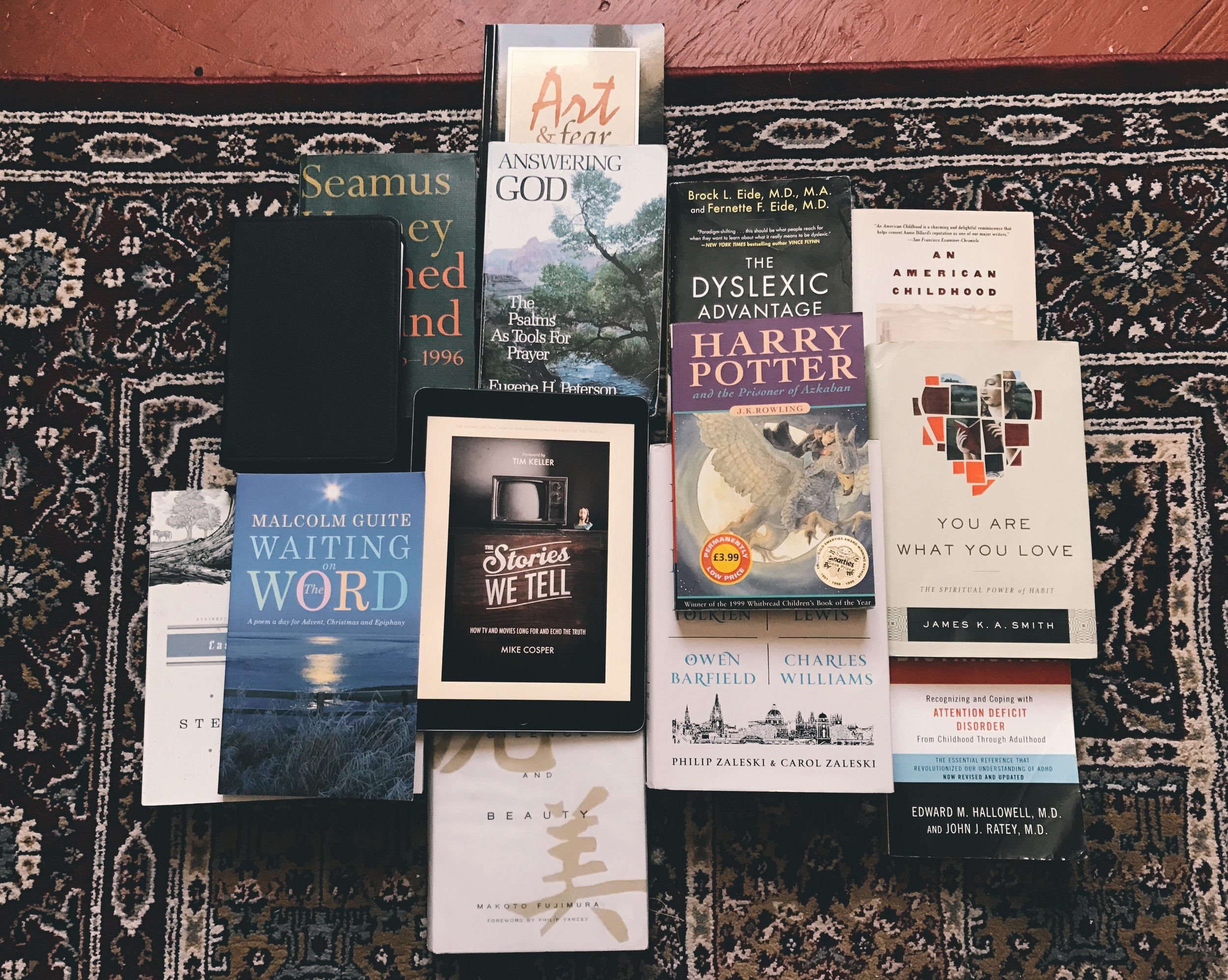 A small selection of my favourite books from 2016. The rest are lent out or are ebooks.