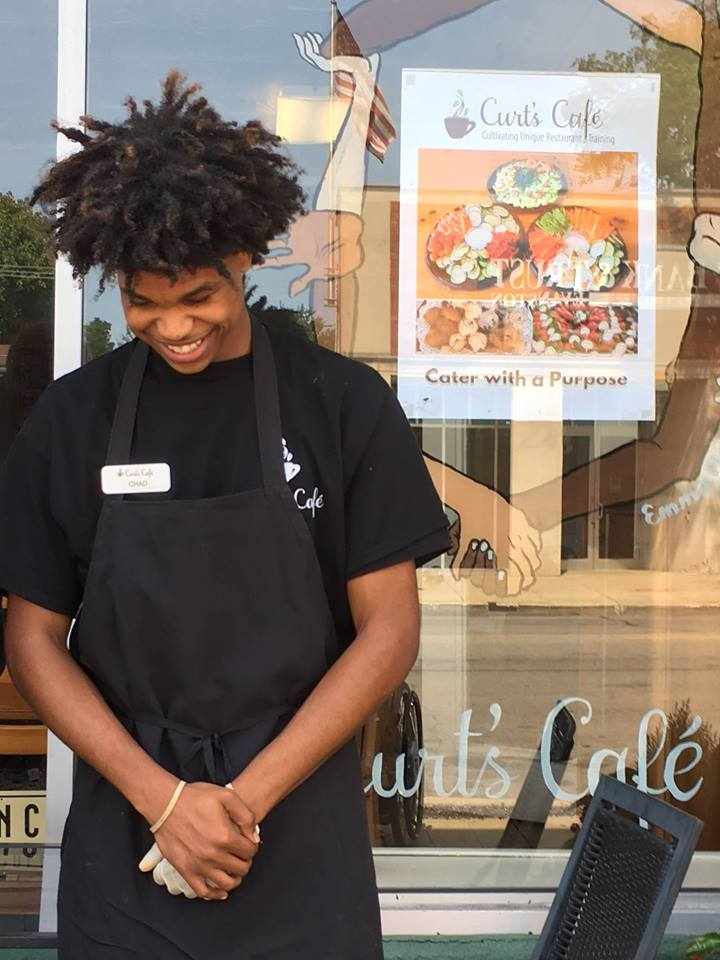 Curt's Cafe   A group of Highland Park residents, animated by a vision of a community that welcomes all, including talented, at-risk young adults, decided to approach Curt's Cafe, a restorative justice employment training program with two cafes in Evanston. I'm helping them to raise grant funds so they can open a Curt's Cafe storefront by mid-2018.
