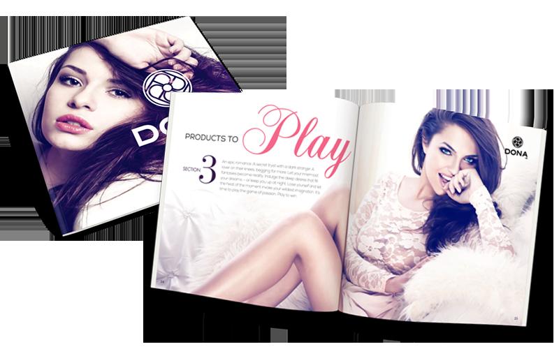 Dona 2014 Catalog Cover