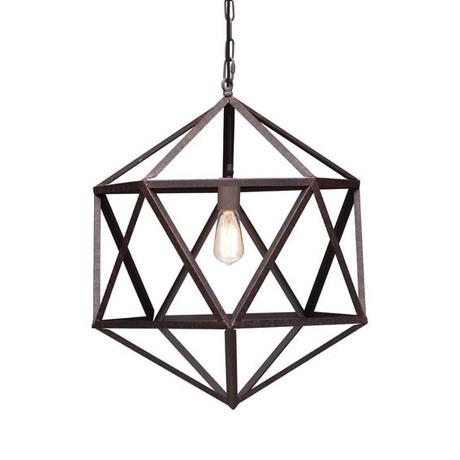 Geometric Ceiling Lamp. Imagevia Dot + Bo.