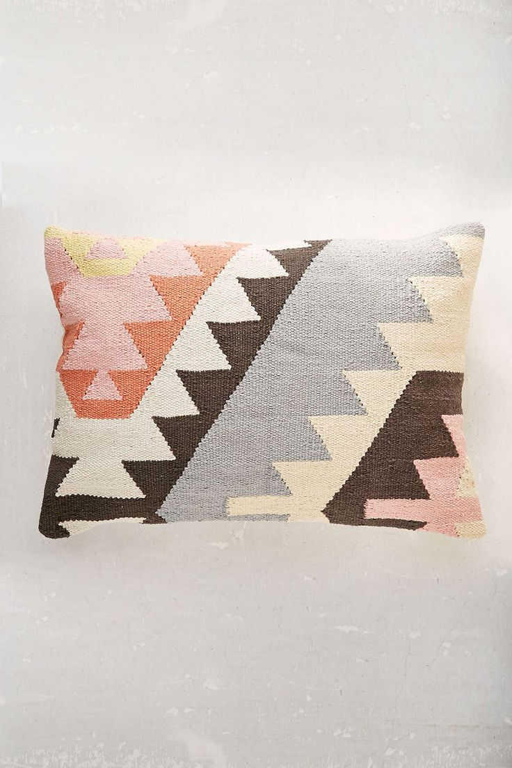 Plum & Bow Tepec Kilim Pillow. Image Source: Urban Outfitters