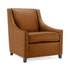 Slope-chair-honey-brown-leather