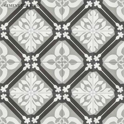 Source:  Cement Tile Shop  - Calais II  Tile (  12 8x8 tiles per box  =  $82.80,  Est. for 1,100 sq. ft. / ~209 boxes =  $17,305.20  )
