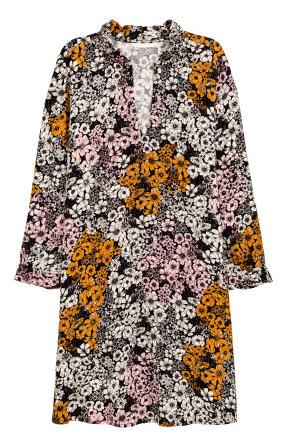 H&M Straight Cut Patterned Dress