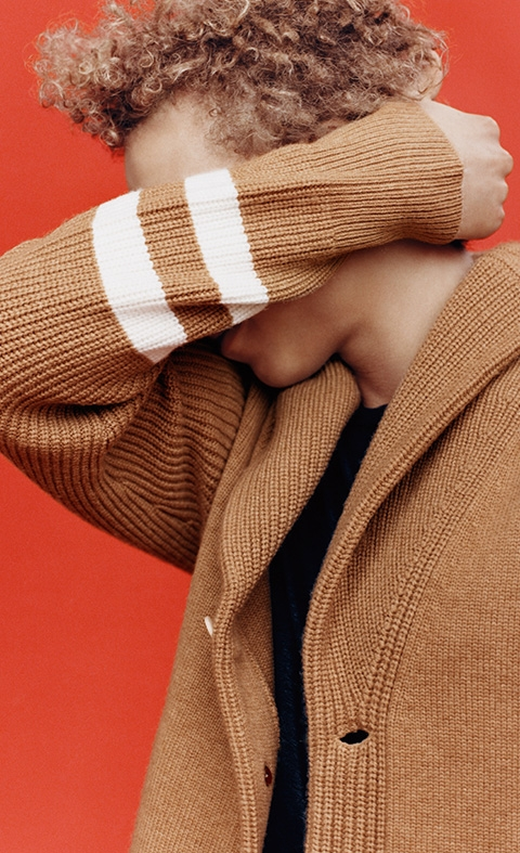 Rag & Bone - Shall Collar Varsity Sweater