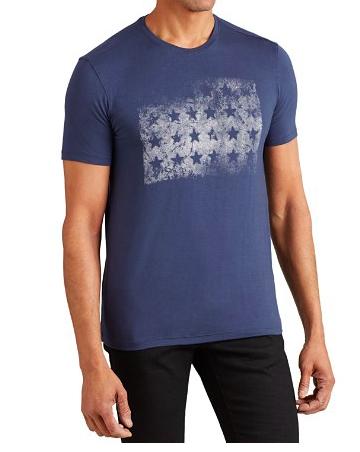 John Varvatos block of faded stars t-shirt