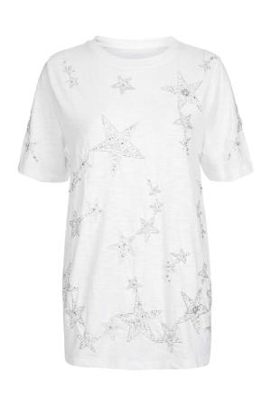 Topshop Star Embellished T-Shirt