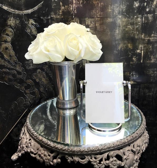 - Fresh flowers and beautiful decor greet you.