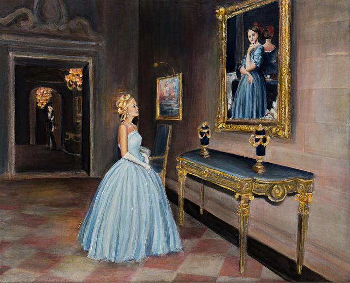 "Frick Self Portrait   20"" x 16""   oil on linen"