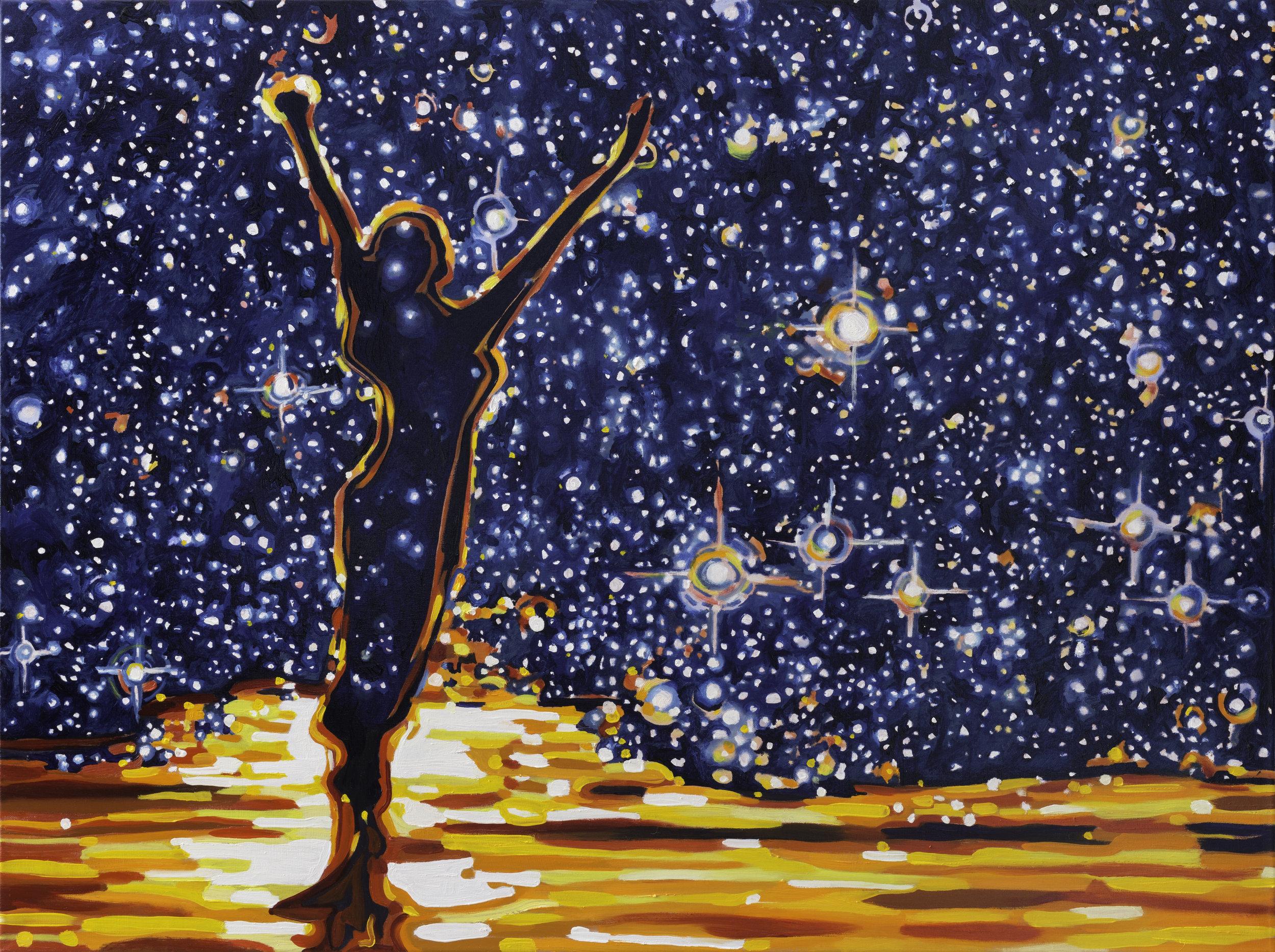 "Reach for the Stars  30"" x 40""  Oil on Linen  ©Annika Connor"