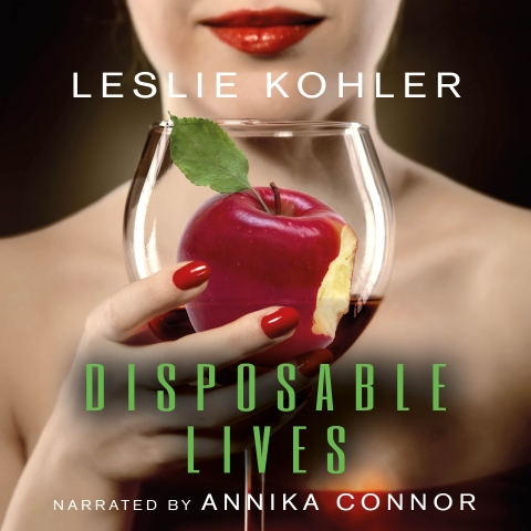 Disposable Lives  is a suspense mystery/thriller written by Leslie Kohler and narrated by Annika Connor. Go  here  to buy the book from  iTunes .
