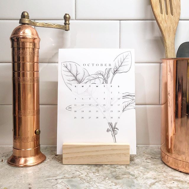 Sage advice: get your #2020 #calendars before I sell out!
