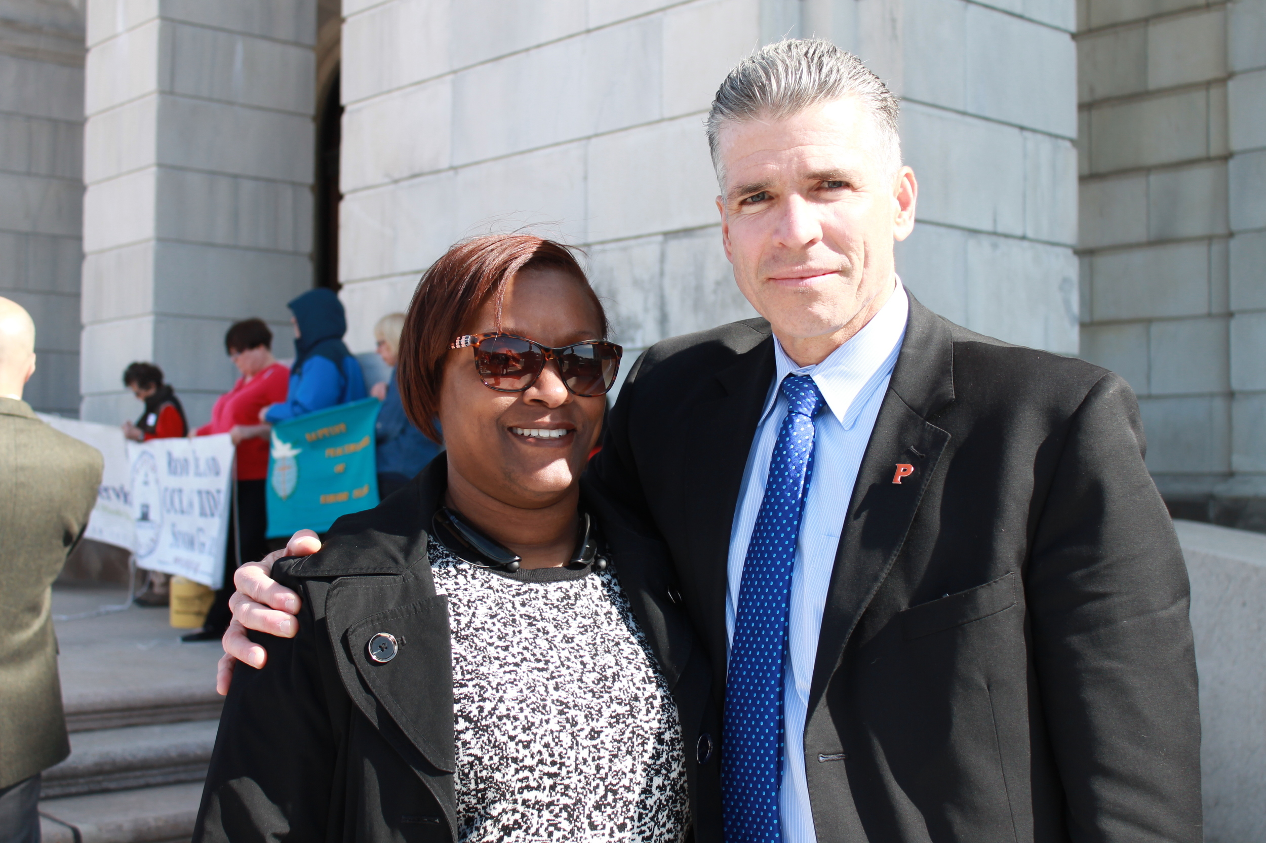 Myra & Commissioner Pare2.JPG