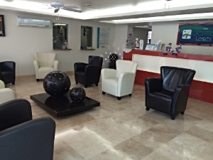 - My dermatologist's office in Mexico