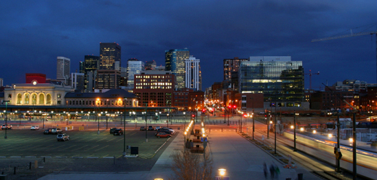 -           Denver,  a great American city.