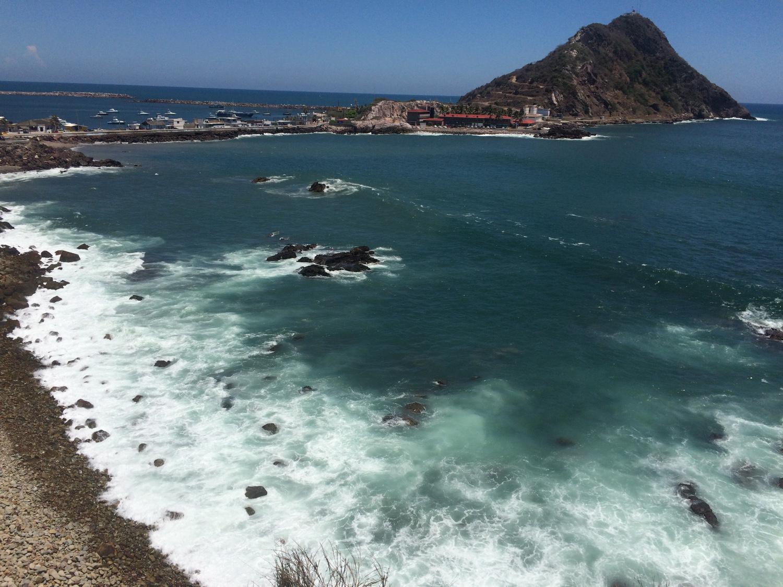 ocean in Mexico coast