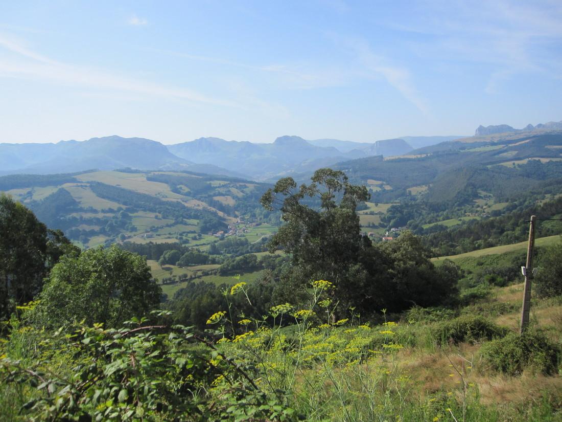 - Rural countryside in Asturias, Spain