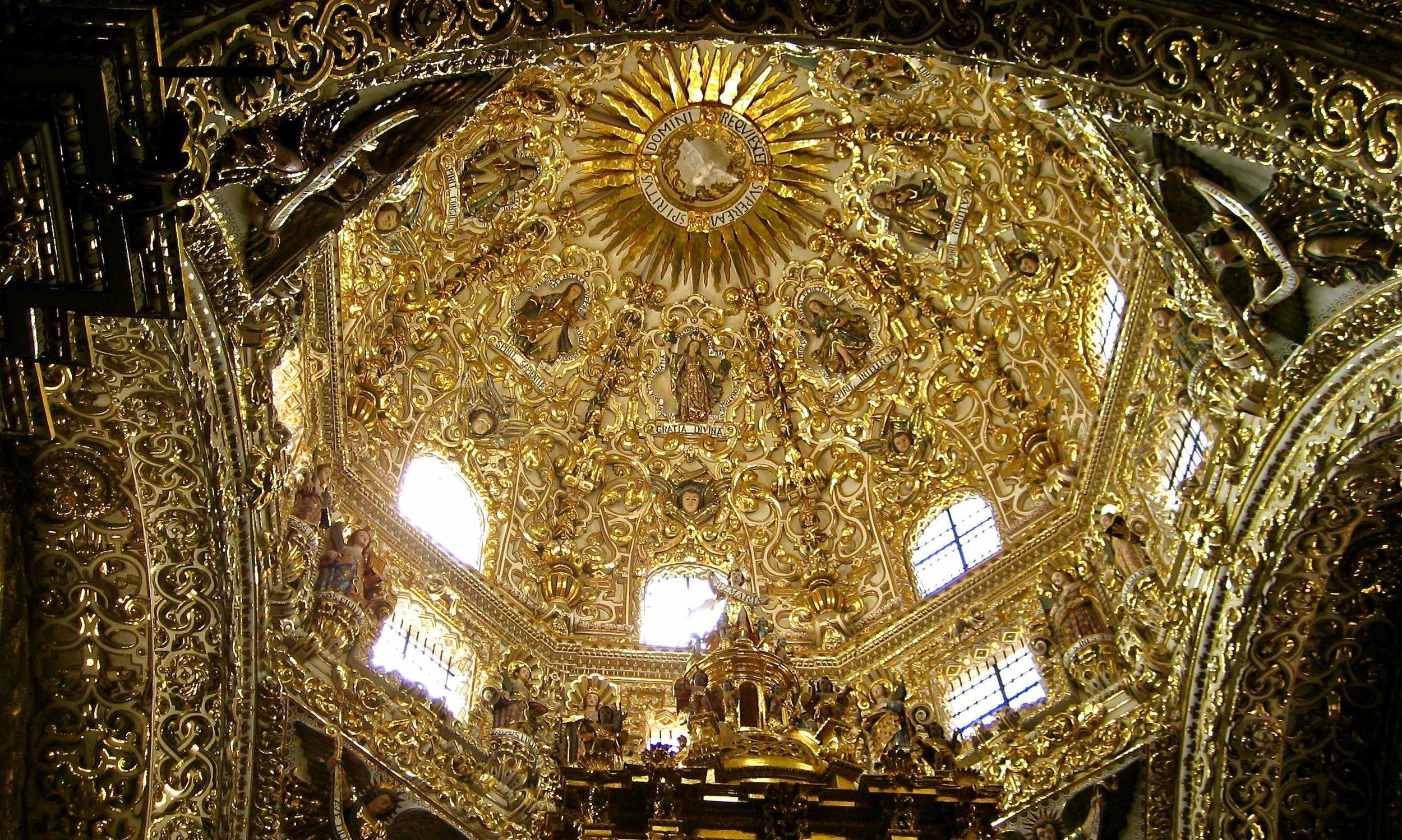 - Puebla Cathedral, Mexico