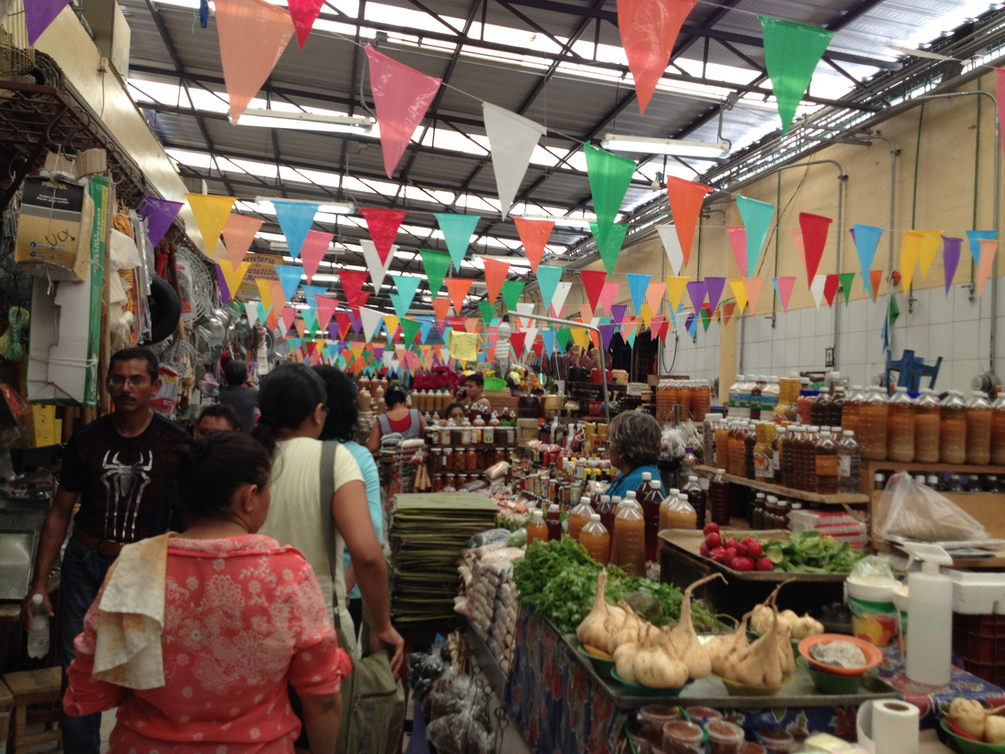 - Mercado in Mérida, a booming expat area in the Yucatan Pennisula