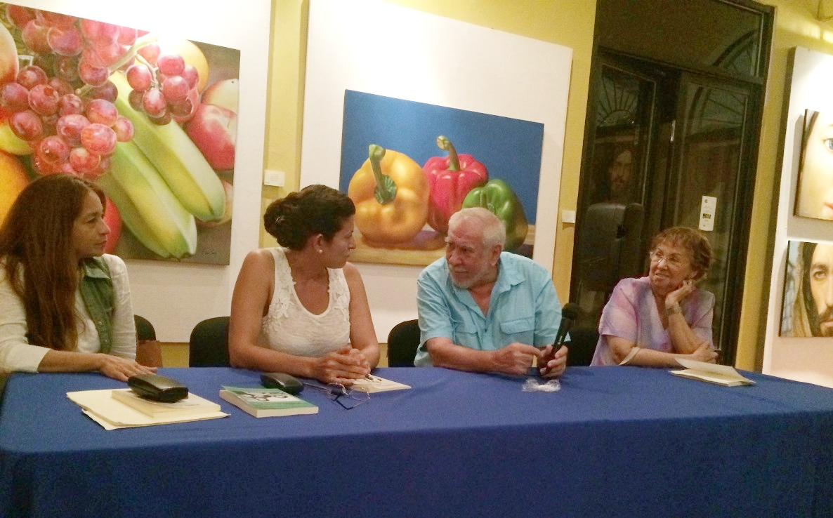 - Book signing event in Mexico