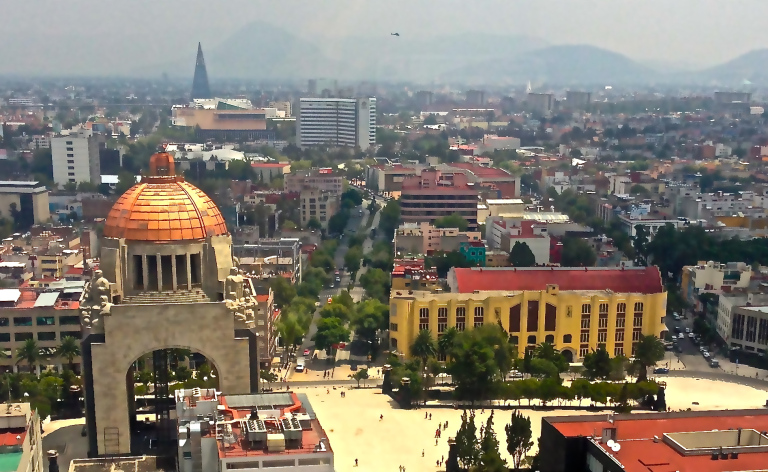 - Mexico City, picture courtesy of My Heart of Mexico, a food and culture blog by Fabiola Rodriguez Licona