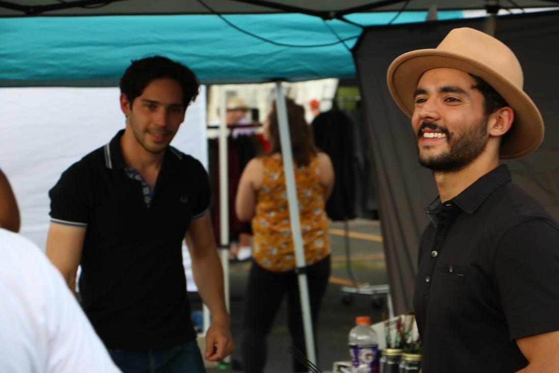 Franciso Alvarez (left) and Os Yapor, Espirituculture.com -