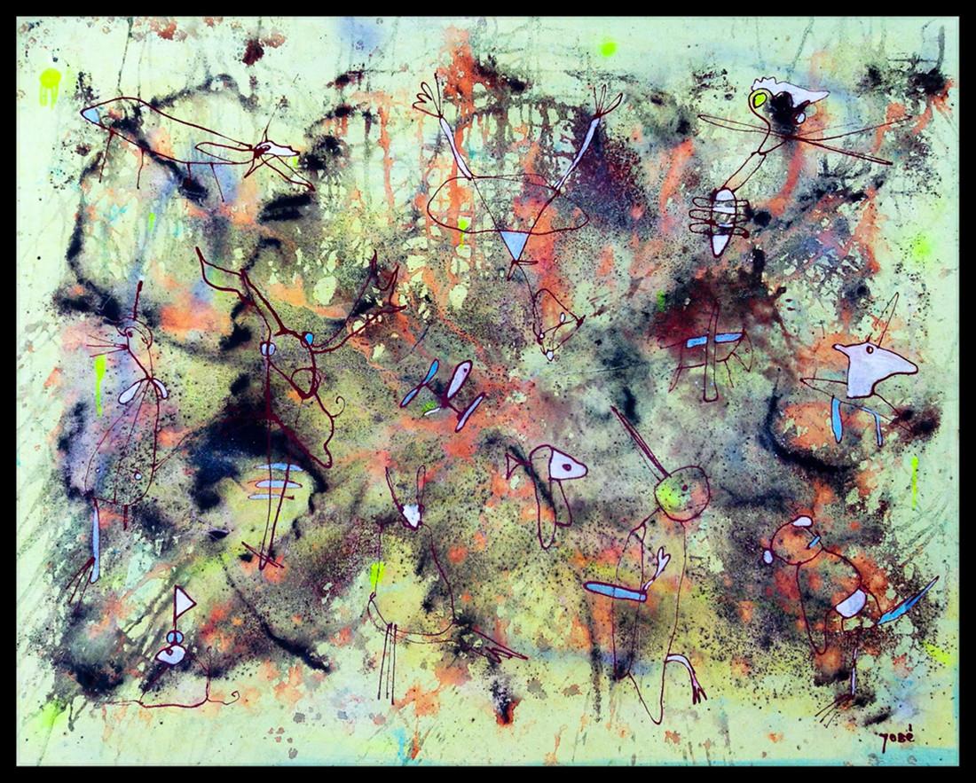 Contemporary piece by José Santos -