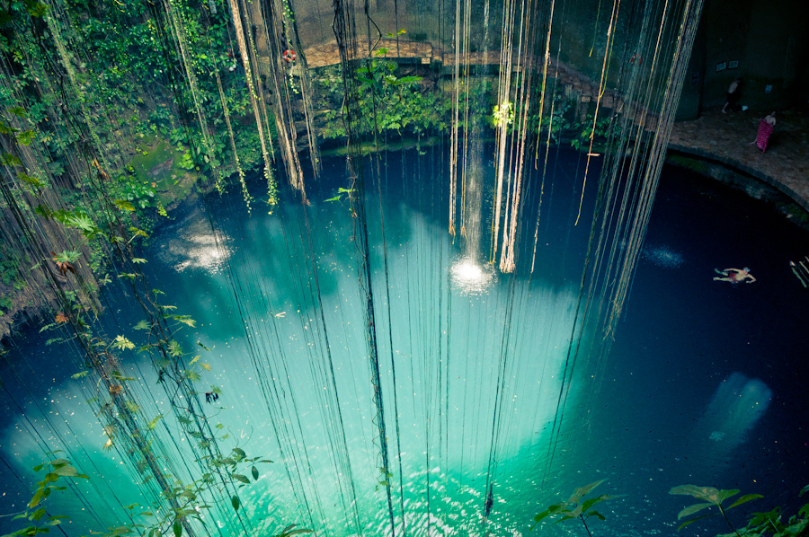 cancun cenotes photo
