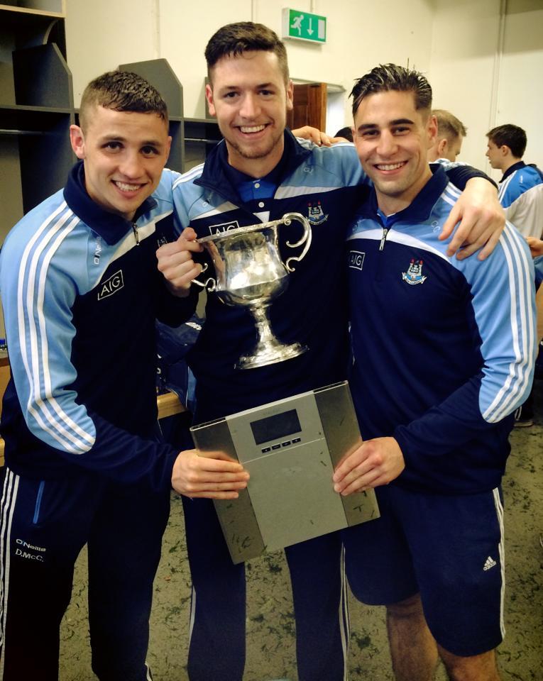 Athlete Development Coach with the All-Ireland winning U21 Dublin Football Team