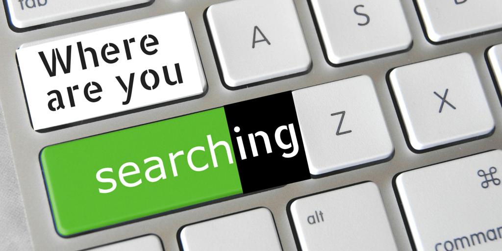 where are you searching