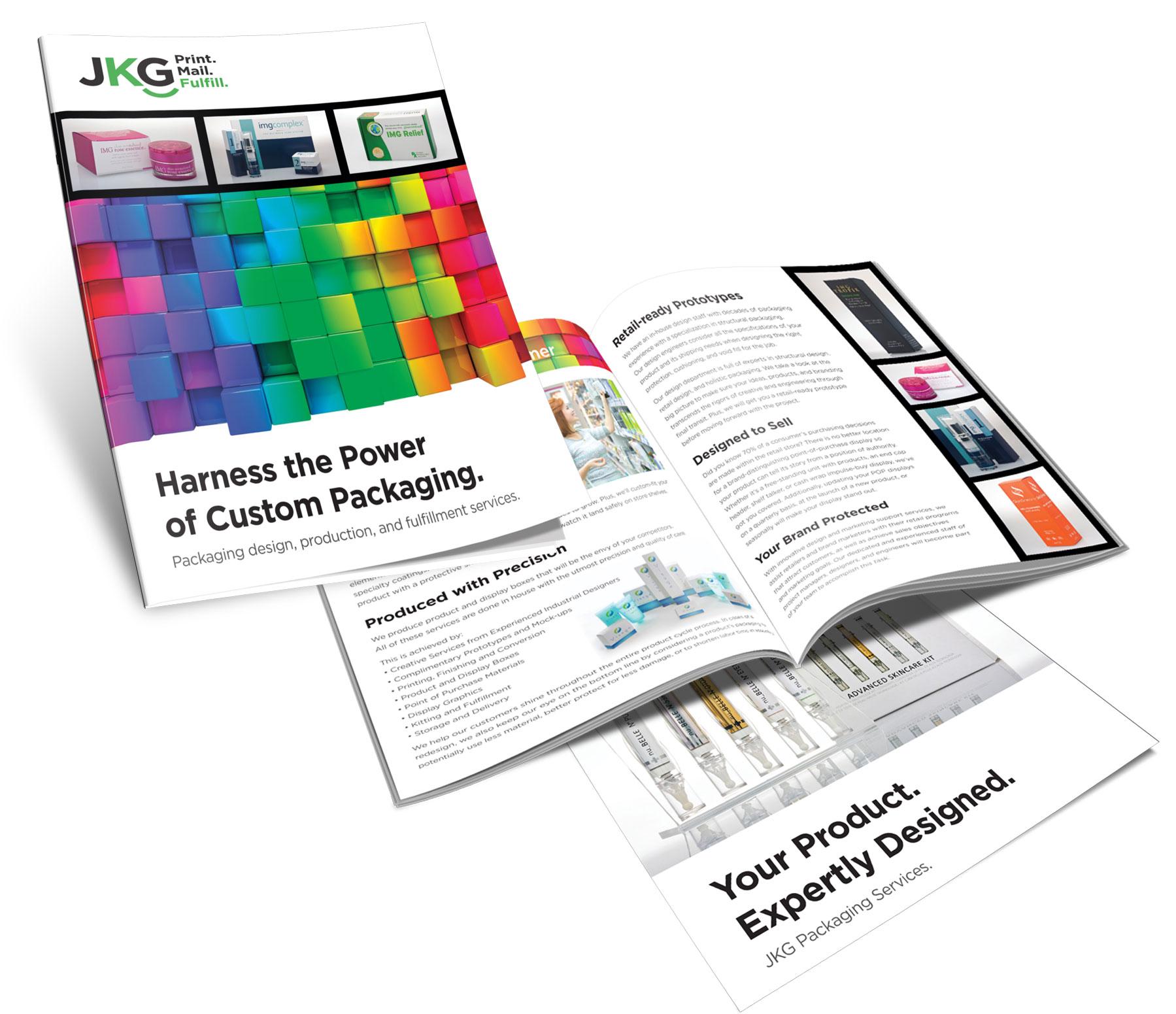 Publication design, brochure design, print design