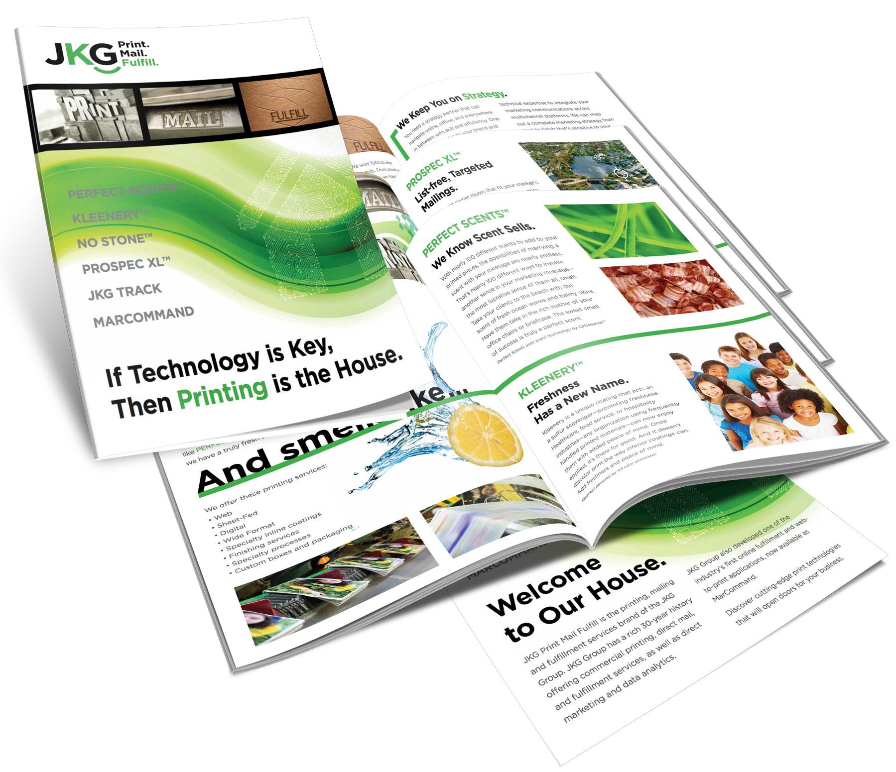Print design, publication design, promotional design
