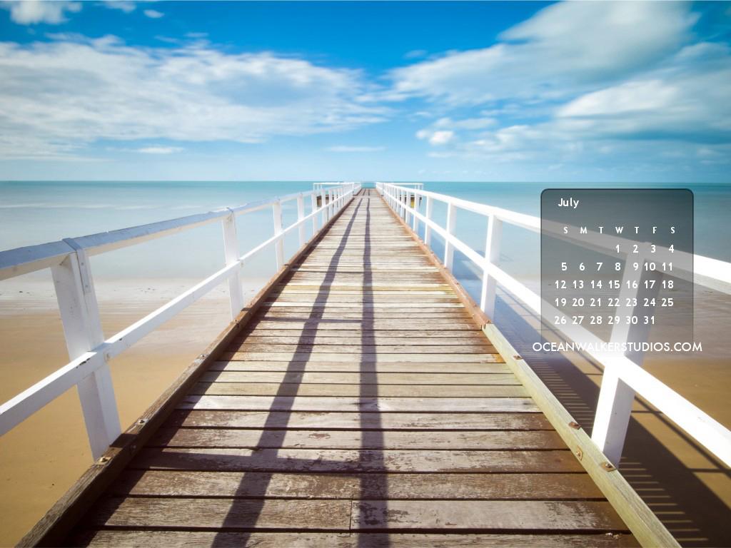 Oceanwalker Studios Desktop Calendars
