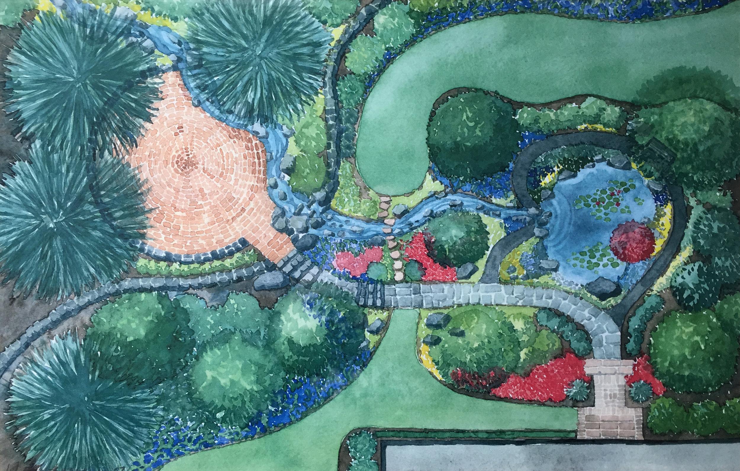 04-25-2017 Bill's Landscape Artwork-edit.JPG