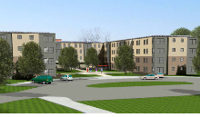 Location: Hudson Valley Community College Troy, NY Use: Student Housing