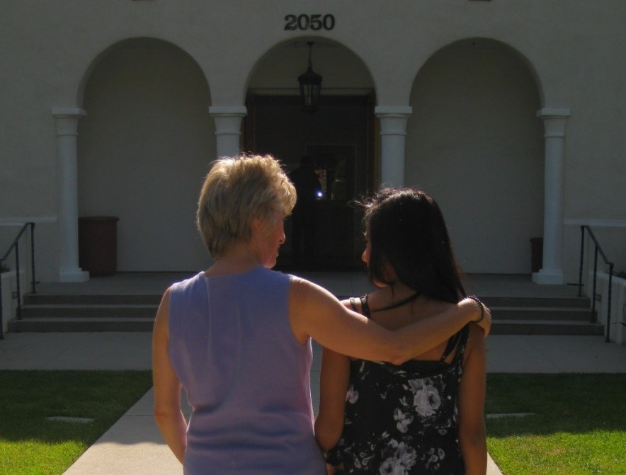 Adult mentors in the 'I Have a Friend' program assist children and teens that have experienced the loss of a loved one. (Hospice of Santa Barbara photo)