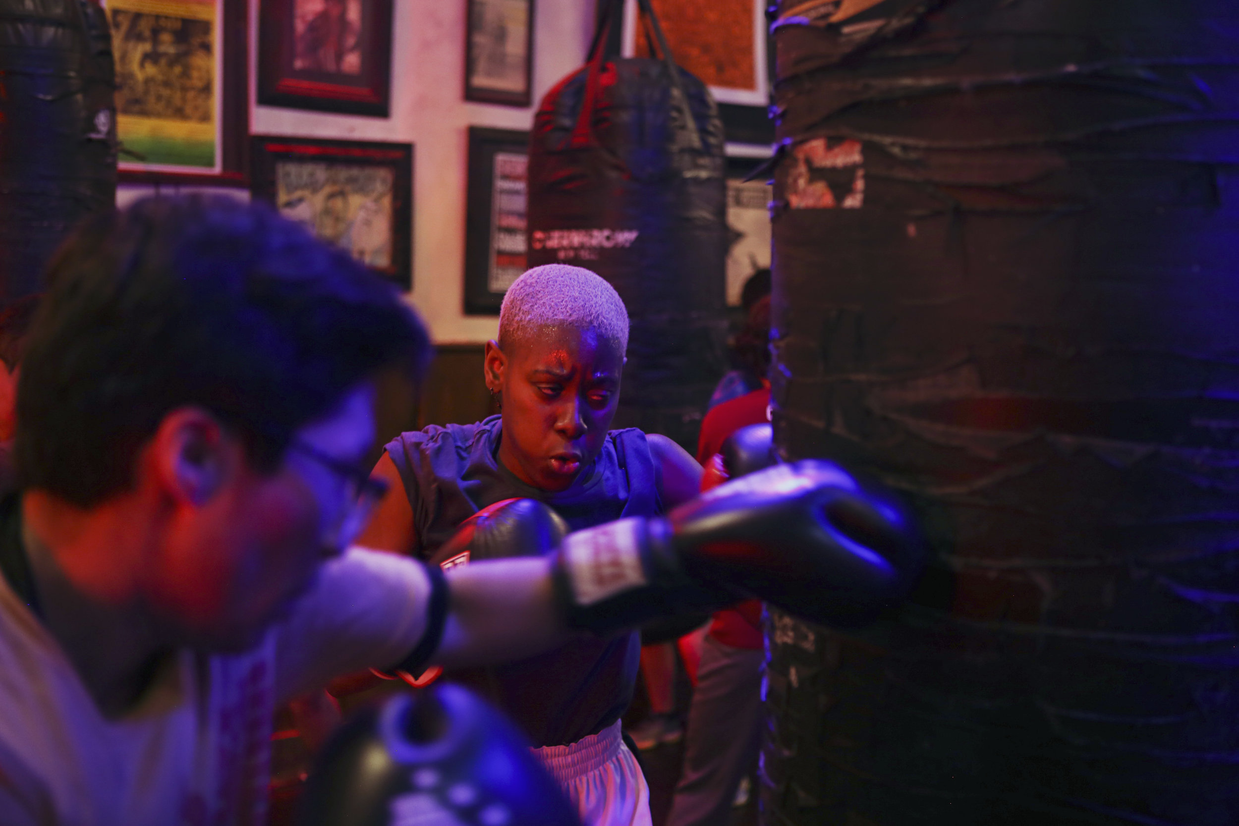 A Boxing Club That Helps Trans People Embrace Their Bodies, for BuzzFeed News - What's at stake for these amateurs, rather than prize money or televised glory, is something more personal, and more interior. Boxing has become a way for the collective's members to bend and shape their own understandings of the masculine, the feminine, and the in-between. It's a way to reckon with their shape and muscle, and with who they are within their bodies.