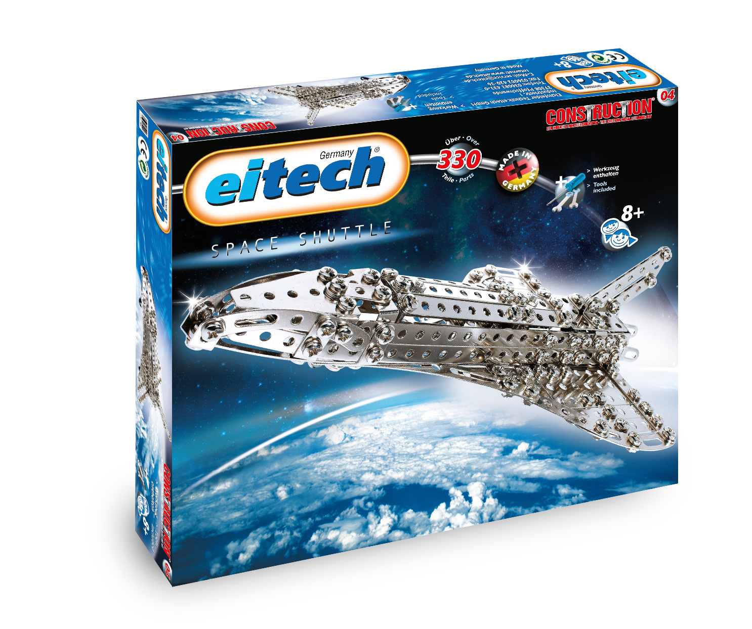 Blast off on a mission to explore outer space!  Dad  will love assembling his very own Space Shuttle.