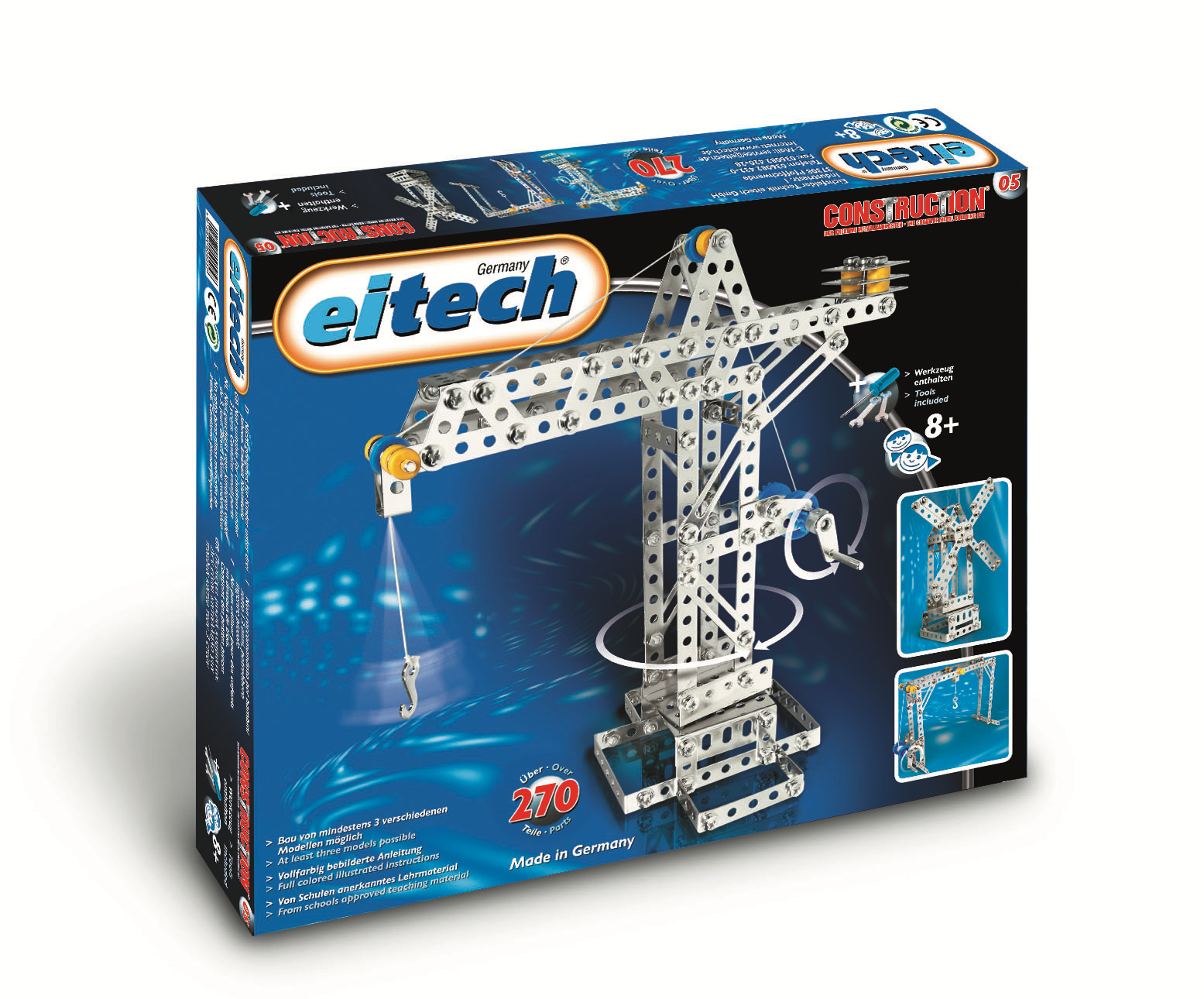An Eitech classic, give  Dad  the crane construction set that started it all.