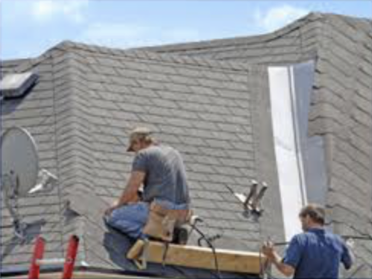 Roofing - A proper roof inspection can reveal a lot and is necessary, as the roof is one of the most expensive items on a house that could potentially cost thousands to replace. Know the condition before you purchase. The Roof is inspected for the condition of the covering, soundness of the structure, water penetration, conditions of the the chimney and flashings, and effectiveness of drainage.