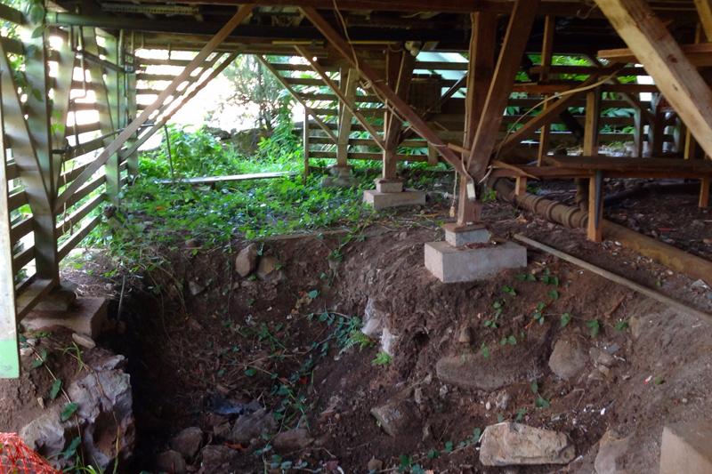 Foundation... - Eroding foundations are a big problem
