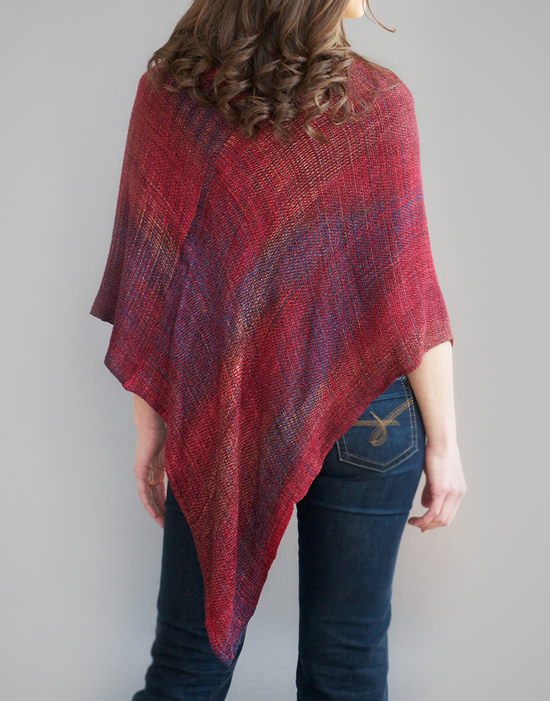 Space Dyed Bamboo Mobius Shawls