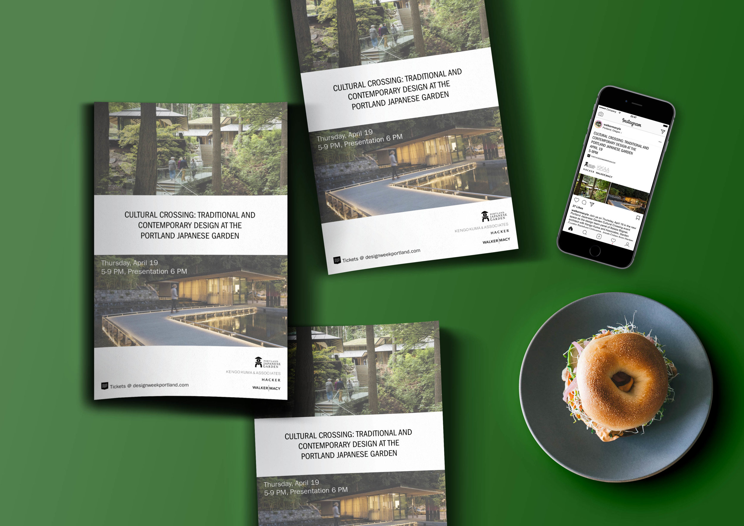 Marketing campaign for a successful Design Week Portland event. Content was distributed across various platforms.
