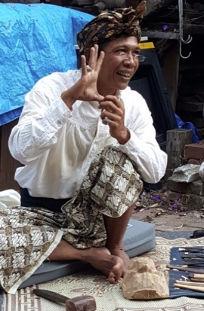 Don't miss the talk by Master carver IDA BAGUS ANOM SURYAWAN. ( http://www.balimaskmaking.com/about/ ) JULY 1 7-9 PM at my studio. The suggested artist donation is $20. I know I go on and on about this but really folks, this man is magical and you will learn so much.
