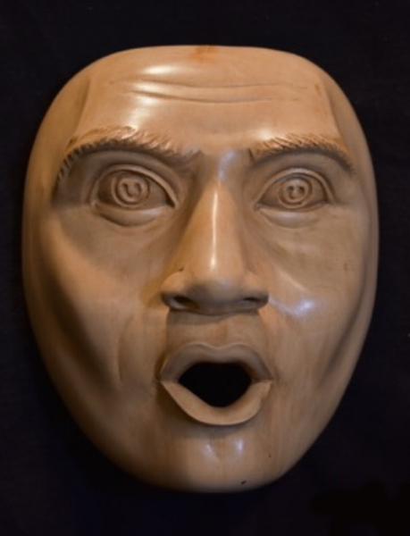 I was so delighted to get these emotion masks from Anom. What a great reference on facial emotions.