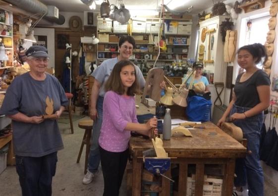 Women Woodcarvers Rock!!!