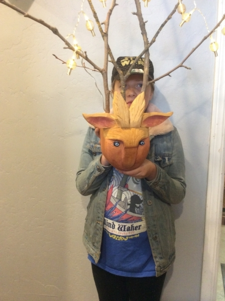 Echo also won Second Place award and best in category in the Junior category in the Tri-Valley Woodcarvers Competition for her Fantasy piece. Congratulations Echo, we are all so proud of you.