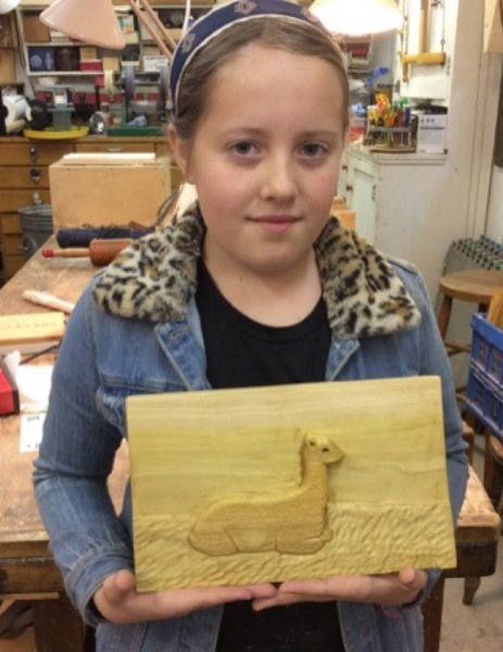Congratulations to Echo on her Third Place award in the Junior category in the Tri-Valley Woodcarvers Competition.